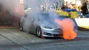 Firefighters work 16 hours to put out fires in Tesla Model S - ABC News