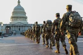 Image result for national guard troops in dc